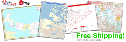 World's largest selection of Province Wall Maps