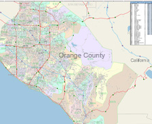 Shop for county wall maps for interior decor.