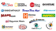 From National Geographic to Rand McNally, mapsales.com partners with top publishers.