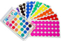 512 Multicolored 3/4 inch Mark-It Dots