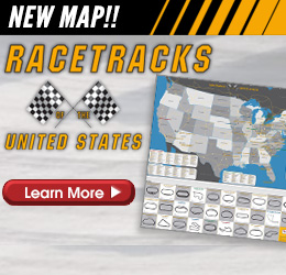 NEW! Racetrack Map!