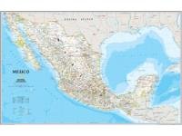 Mexico Political Wall Map