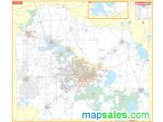 Gainesville/ Alachua County Wall Map
